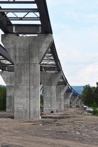 mostní konstrukce SO 206 na obchvatu Třince