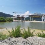 Na stavbě žilinské dálnice se využívají technologie letmé betonáže Doka i posuvná skruž Berd