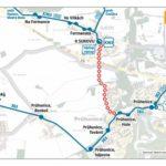 Dočasná změna trasy a zastávek pro linku 363 a 605