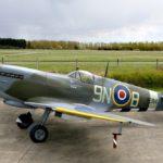 Na  Aviatické pouti nebude chybět  legendární britský stíhací letoun Spitfire
