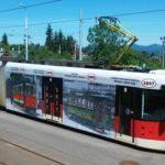 Výstava i vyzdobená tramvaj připomíná 120.let tramvajové dopravy vLiberci