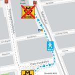 Anděl: dočasné omezení vstupu a výstupu ze stanice metra