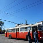 Dopravní podnik vČeských Budějovicích se může pochlubit historickým trolejbusem