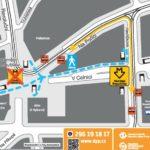 Náměstí Republiky: dočasné omezení vstupu a výstupu ze stanice metra
