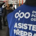 Asistenti přepravy zkontrolovali spoje v centru Ostravy