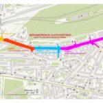 Rekonstrukce vozovky omezí průjezd Husitskou ulicí vPraze 3