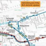 Husitská ulice: dočasné přerušení provozu
