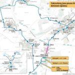 Dočasná změna trasy a zastávek pro linky číslo 301 a 352