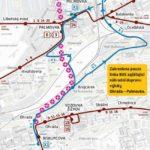 Ohrada – Palmovka: krátkodobé přerušení provozu tramvají