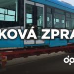 První tramvaj Stadler nOVA dorazila do Ostravy