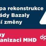 Změny v organizaci MHD od 4. května 2018