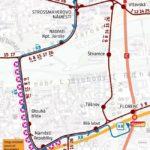 Křižovatka u Letenského tunelu – Náměstí Republiky: krátkodobé přerušení provozu tramvají