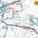 Dočasná změna trasy a zastávek pro linky číslo 135, 207, 908 a 909