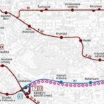 Otakarova – Koh-i-noor: krátkodobé přerušení provozu tramvají