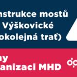Změny v organizaci MHD od 2. června 2018