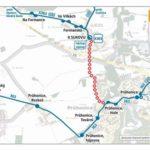Dočasná změna trasy a zastávek pro linky číslo 363 a 955