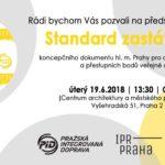 Představení nového Standardu zastávek PID 19. 6. 2018