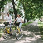 Společnost Slovnaft buduje vBratislavě síť parkovacích stanic pro sdílená cyklistická kola