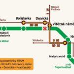 Omezení v provozu metra o prodlouženém červencovém víkendu