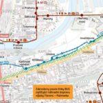 Palmovka – Florenc: dočasné přerušení provozu tramvají