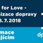 BEATS FOR LOVE 2018 – organizace dopravy