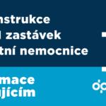 Rekonstrukce tramvajových zastávek Fakultní nemocnice