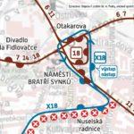 Vozovna Pankrác – Náměstí Bratří Synků: krátkodobé přerušení provozu tramvají