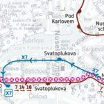 Otakarova – Albertov: krátkodobé přerušení provozu tramvají