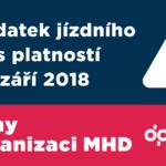 Změny v organizaci MHD od 2. září 2018