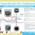 Regionální den PID v Čelákovicích 8. 9. 2018