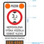VPraze 7 je umístěn detektor kontrolující výšku vozidel
