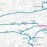 Změny v dopravě během konání motoristického závodu v oblasti Strahova