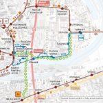 Strossmayerovo náměstí – Vltavská – Dělnická a Těšnov – Vltavská: dočasné přerušení provozu tramvají