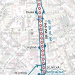 Vítězné náměstí – Nádraží Podbaba: krátkodobé přerušení provozu tramvají