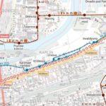 Florenc – Palmovka: dočasné přerušení provozu tramvají