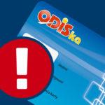 Chybné nastavení karet ODISka vyrobených v lednu a únoru 2019
