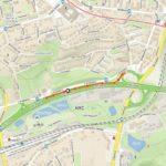 Stavba protihlukové stěny omezí provoz na Jižní spojce v Praze