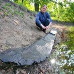 Řeka Dyje ukrývala tisíce let staré fragmenty lodi