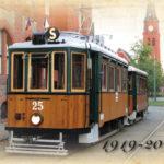 100 let tramvaje č. 25