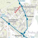 Dočasná změna trasy a zastávek pro linky číslo 107 a 147