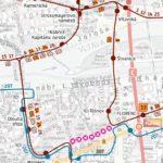 Oblast zastávek Bílá labuť: dočasné přerušení provozu tramvají