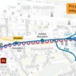 Starý Hloubětín – Lehovec: dočasné přerušení provozu tramvají