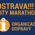 OSTRAVA!!! CITY MARATHON 2019 – organizace dopravy