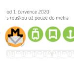 Roušky v metru zůstávají povinné i po 1. 7. 2020, v ostatních dopravních prostředcích PID je i nadále doporučujeme nosit