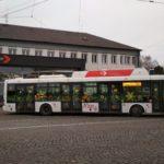 VHradci Králové vyjede do ulic Vánoční trolejbus