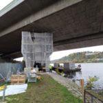 Oprava Barrandovského mostu bude pokračovat i vpříštím roce