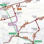 Rekonstrukce tramvajové trati omezuje dopravu v úseku Malostranská – Chotkovy sady