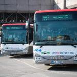 VJihomoravském kraji budou jezdit nové autobusy s novým vizuálním stylem