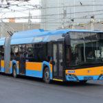 Do Sofie míří nové trolejbusy strakčními bateriemi