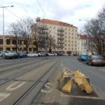 Koncem března bude zahájena další etapa rekonstrukce tramvajové trati na Pankrác